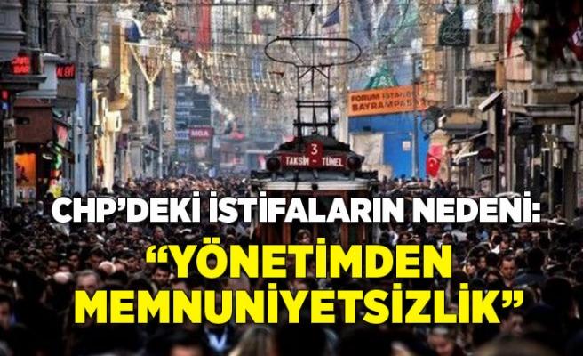 Vatandaşlar, CHP'deki istifaları 'yönetimden memnuniyetsizlik' olarak yorumladı