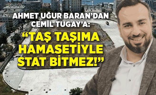 AK Partili Baran'dan stat çıkışı