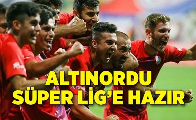 Altınordu Süper Lig'e hazır
