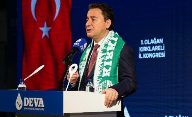 Babacan'dan Erdoğan'a: Ülkeyi yayık ayranına çevirdiniz