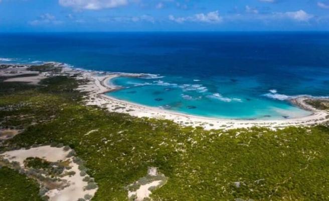 Bahamalar'daki tropik ada 19.5 milyon dolara satışa çıktı