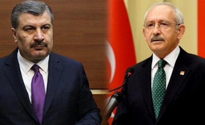 Bakan Koca'da Kılıçdaroğlu'na aşı tepkisi!