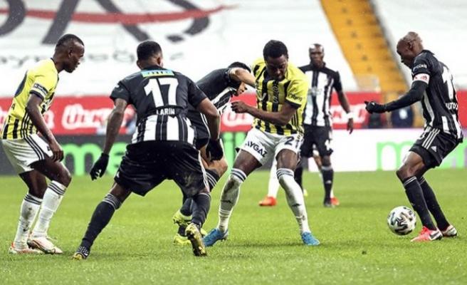 Beşiktaş - Fenerbahçe maç sonucu: 1-1