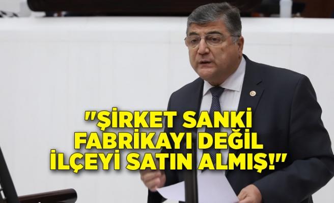 """CHP'li Sındır, """"Bir kent bir kültür kar hırsına kurban ediliyor!"""""""