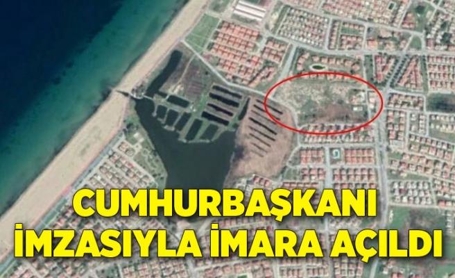 Cumhurbaşkanı Erdoğan'ın imzasıyla 22 dönümlük yeşil alan imara açıldı