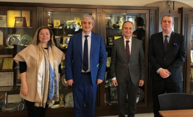 Danimarka Büyükelçisi Danny Annan'dan Yaşar Holding'e ziyaret