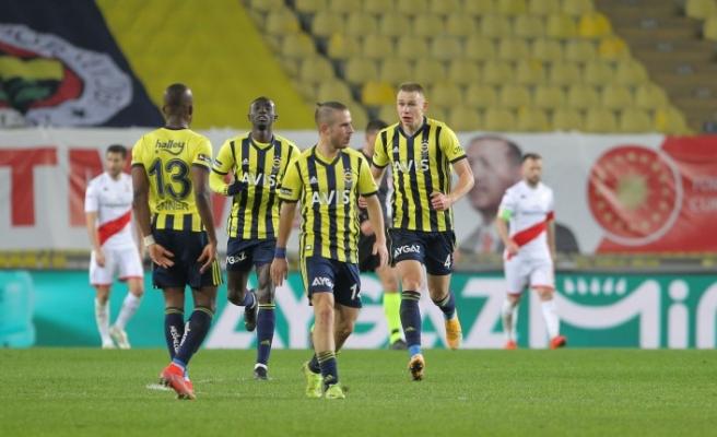 Fenerbahçe - Fraport TAV Antalyaspor: 1-1