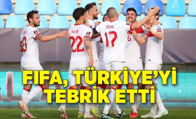 FIFA, Norveç'i yenen Türkiye'yi tebrik etti