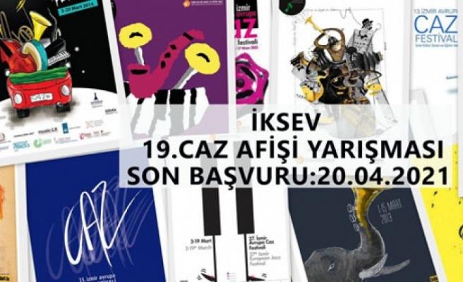 İKSEV'den 19. Caz Afişi Yarışmasına davet
