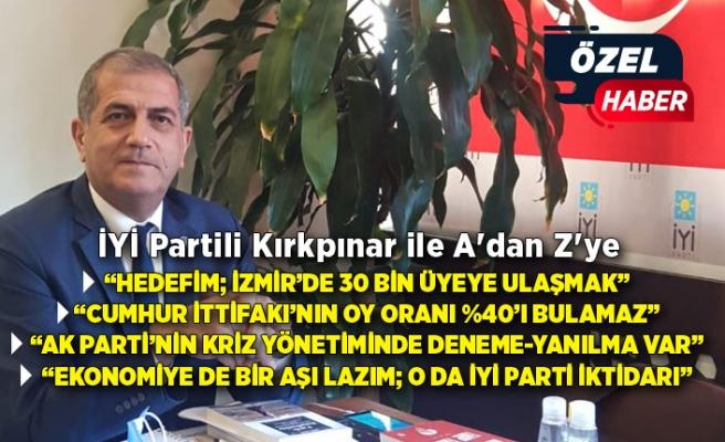 İYİ Partili Kırkpınar ile A'dan Z'ye