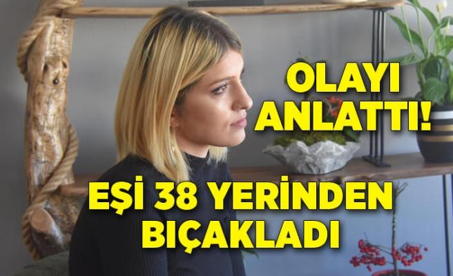 İzmir'de boşanmak isteyen eşini bıçakladı