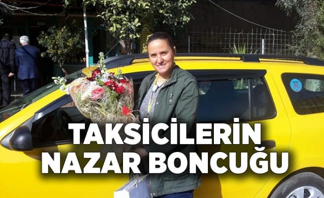 İzmir'in tek kadın taksi sürücüsü; 'Taksicilerin nazar boncuğu'