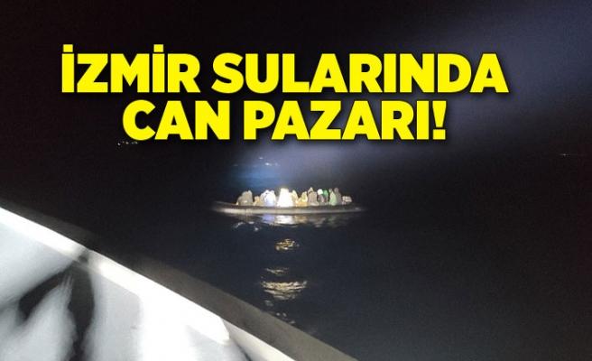 İzmir sularında can pazarı!