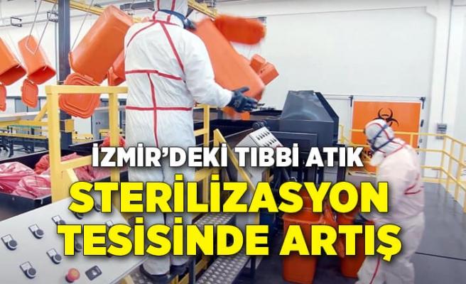 İzmir'deki tıbbi atık sterilizasyon tesisinde kapasite artışı