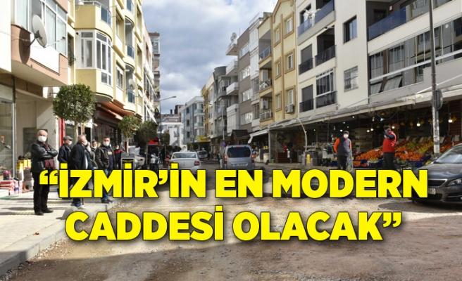 Narlıdere'de Güngören Caddesi yeni yüzüne kavuşuyor!