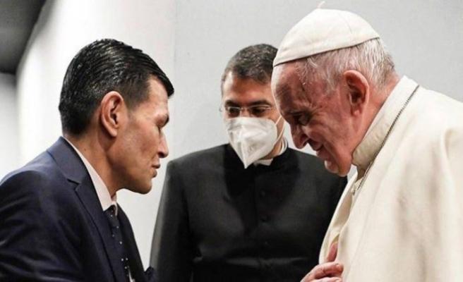Papa Francis, Aylan Kurdi'nin babasıyla görüştü