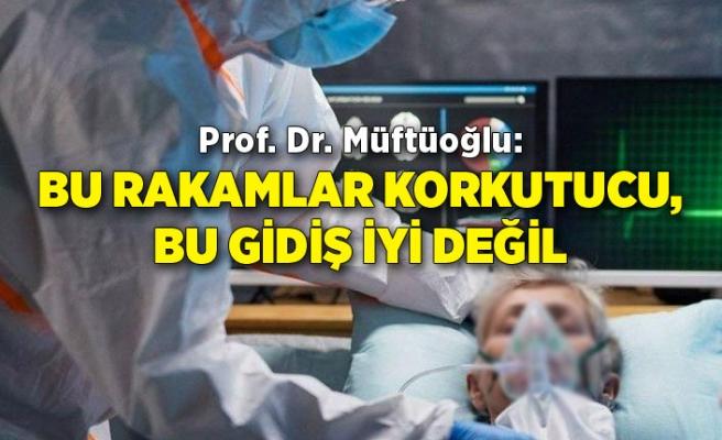 Prof. Dr. Müftüoğlu: Bu rakamlar korkutucu, bu gidiş iyi değil