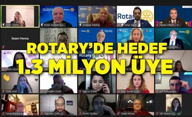 Rotary'de hedef 1.3 milyon üye