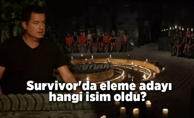 Survivor'da eleme adayı hangi isim oldu? Dokunulmazlık oyununu kim kazandı?