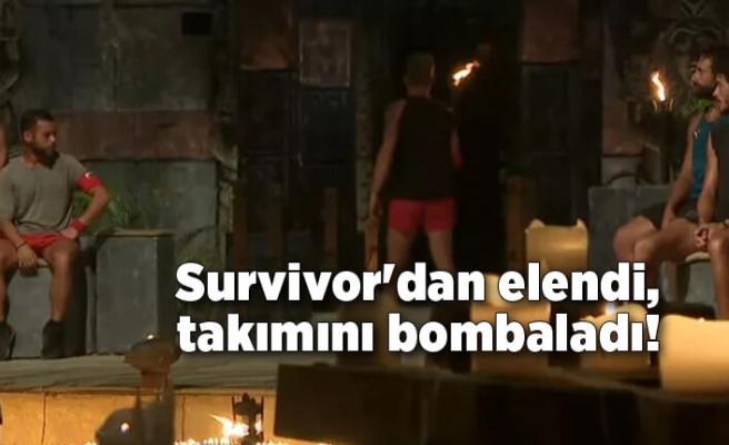 Survivor'dan elendi, takımıyla ilgili sert sözler!