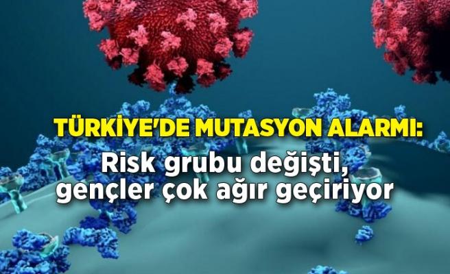 Türkiye'de mutasyon alarmı: Risk grubu değişti, gençler çok ağır geçiriyor