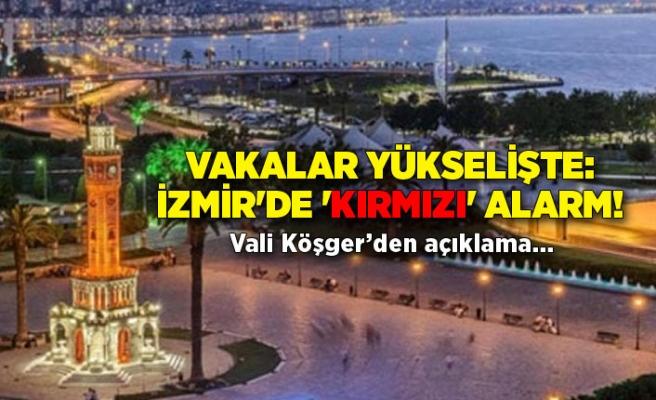Vakalar yükselişte: İzmir'de 'kırmızı' alarm!