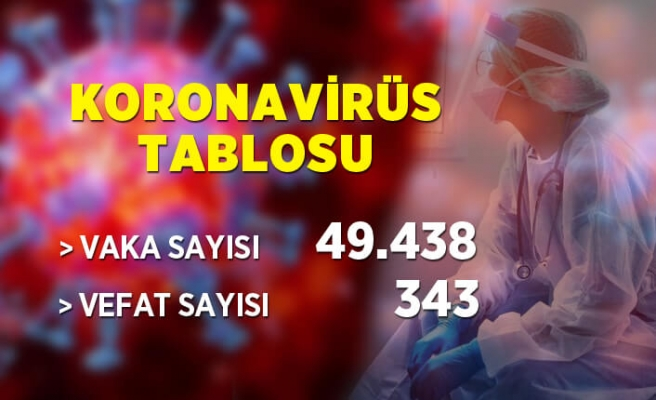 23 Nisan koronavirüs tablosu
