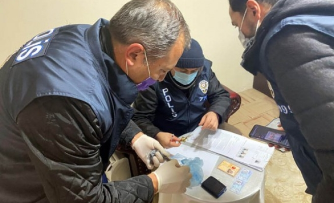 Ankara merkezli uyuşturucu operasyonu