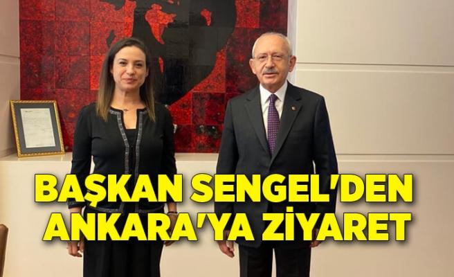 Başkan Sengel'den Ankara'ya ziyaret