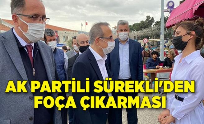 Başkan Sürekli'den Foça çıkarması