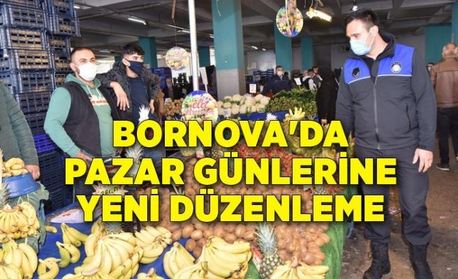 Bornova'da pazar günlerine yeni düzenleme