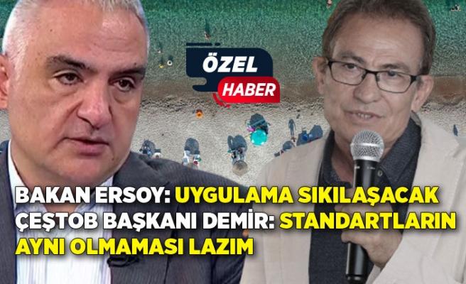 ÇEŞTOB Başkanı Yakup Demir'den 'güvenli turizm sertifikası' açıklaması