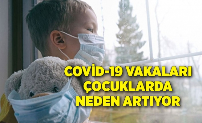 Covid-19 vakaları çocuklarda neden artıyor
