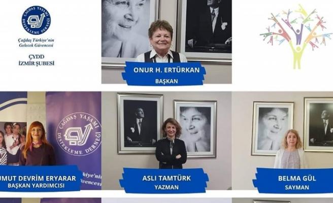 ÇYDD İzmir Şubesi yeni yönetimi belirlendi