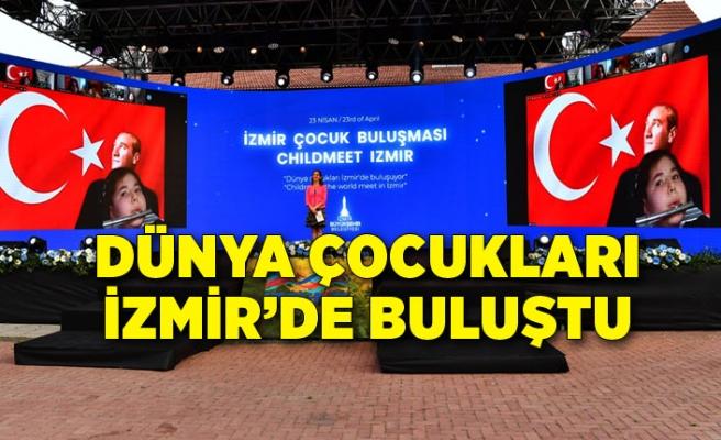 Dünya çocukları İzmir'de buluştu