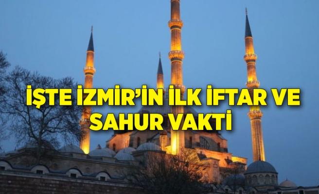 İzmir İmsakiyesi 2021