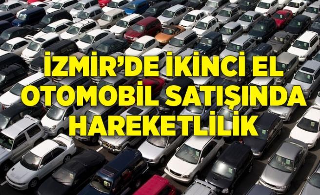 İzmir'de ikinci el otomobil satışında hareketlilik