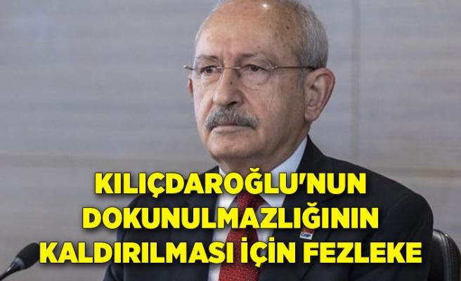 Kılıçdaroğlu'nun dokunulmazlığının kaldırılması için fezleke