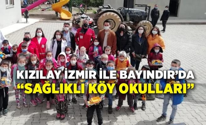 """Kızılay İzmir ile Bayındır'da """"Sağlıklı Köy Okulları"""""""