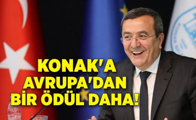 Konak'a Avrupa'dan bir ödül daha!