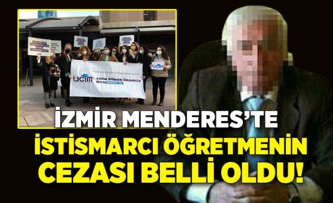 İzmir Menderes'te istismarcı emekli öğretmenin cezası belli oldu!