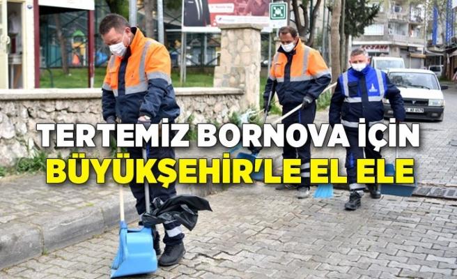 Tertemiz Bornova için Büyükşehir'le el ele