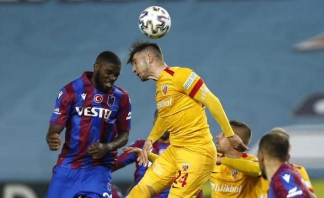 Trabzonspor: 1 - Hes Kablo Kayserispor: 1