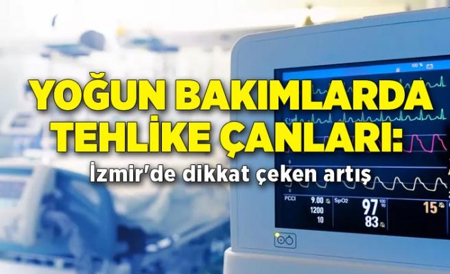 Yoğun bakımlarda tehlike çanları: İzmir'de dikkat çeken artış