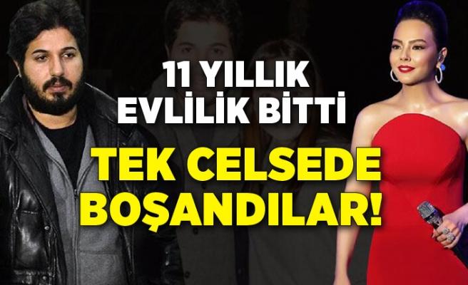 11 yıllık evlilik bitti! Ebru Gündeş ile Reza Zarrab tek celsede boşandı!