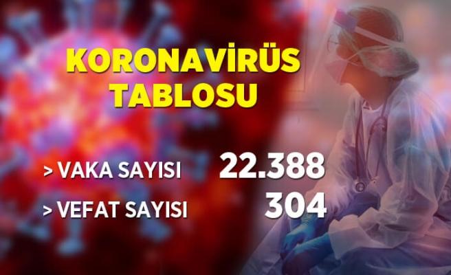 6 Mayıs koronavirüs tablosu