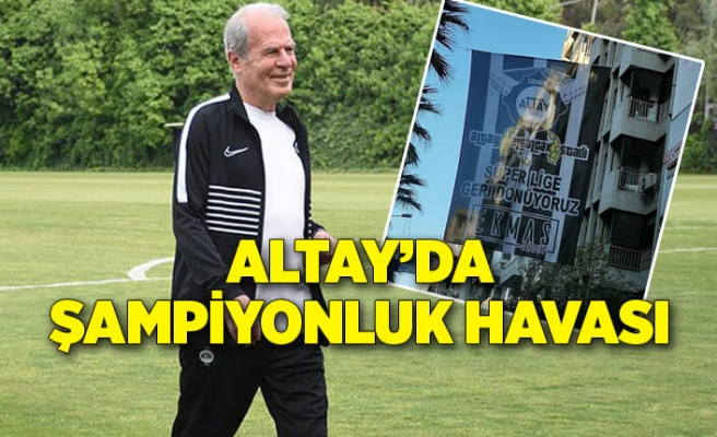 Altay'a Mustafa Denizli'nin getirilmesiyle şampiyonluk havası