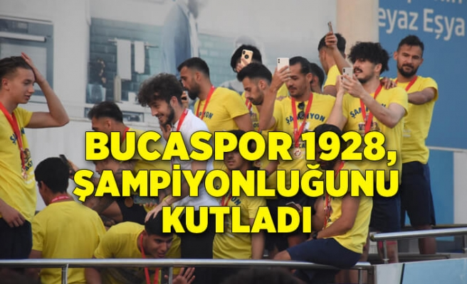 Bucaspor 1928, Play-Off şampiyonluğunu kutladı