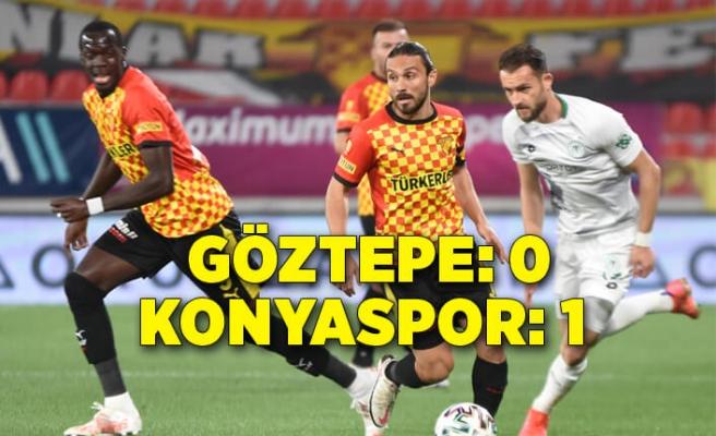 Göztepe: 0 - İttifak Holding Konyaspor: 1