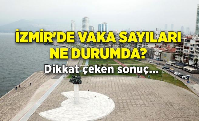 İzmir'de vaka sayıları ne durumda? Dikkat çeken sonuç...